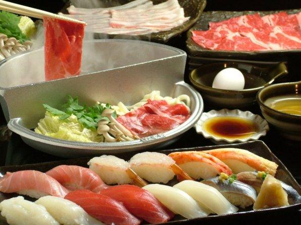 札幌 ビジネスホテル/【1泊2食付】◆すき焼き・しゃぶしゃぶ・上生鮨コースチケット付き◆プラン