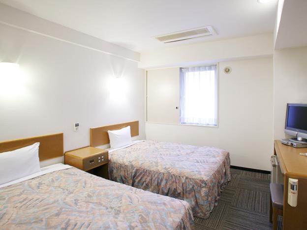 札幌 ビジネスホテル/広々快適~ツインルームのシングルユース(お1人様利用)~