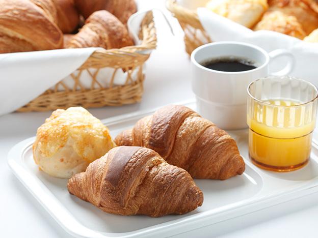 写真:朝食サービス